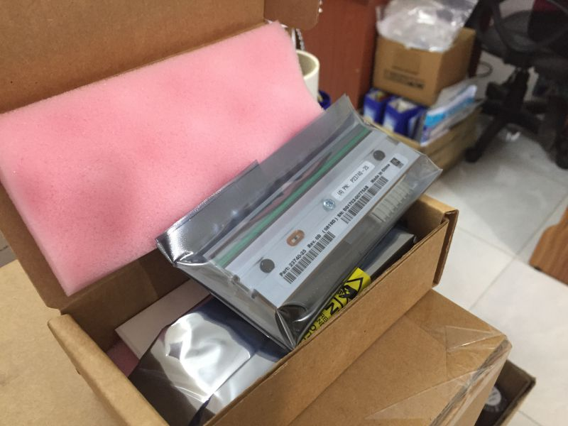 Đầu in nhiệt máy in mã vạch Zebra ZT410 203DPI