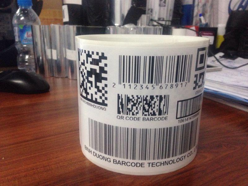 In tem mã vạch QR Code tại Bình Dương, TP HCM