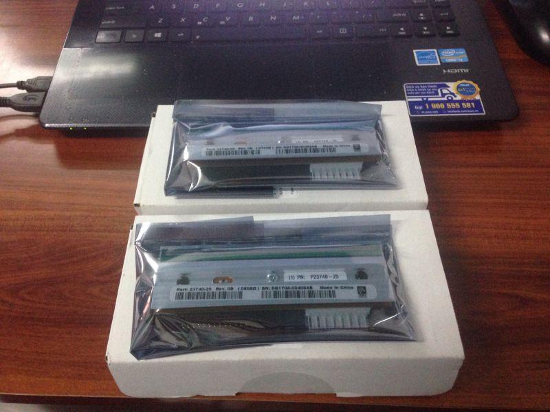 Phụ kiện trục lăn, trục roller, đầu in nhiệt cho máy in Zebra ZT410, ZT420