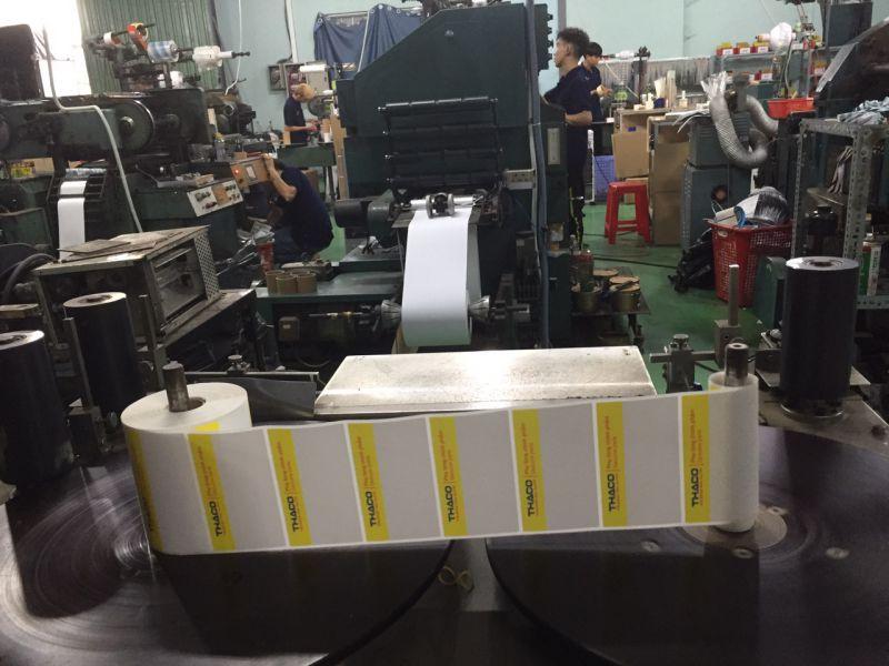 Cung cấp tem in nhãn mã vạch cho máy Zebra, Datamax O'Neil, Sato, Toshia, Avery Dennison tại Tiền Giang