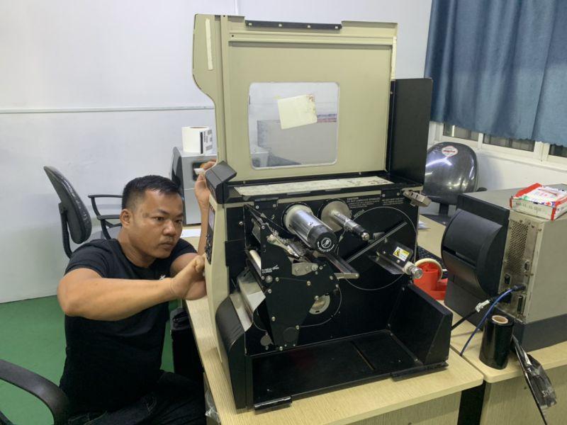Bảo dưỡng bảo trì máy in tem nhãn mã vạch