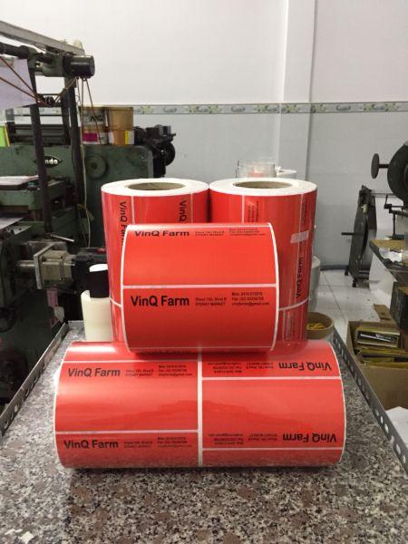 Bán giấy tem nhãn mã vạch bế sẵn tại Hải Dương, Hải Phòng