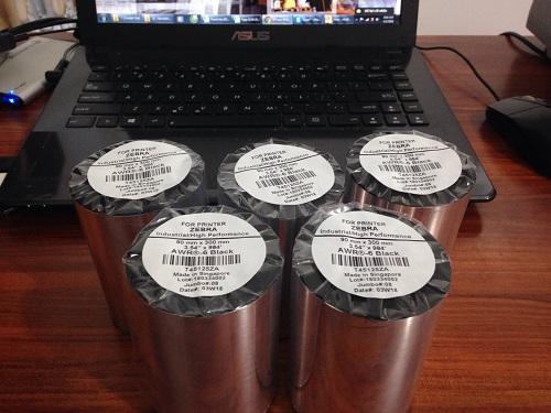 Bán mực in mã vạch Premium Wax 110mm x 300m tại Biên Hòa, Đồng Nai, Bình Phước, Tây Ninh