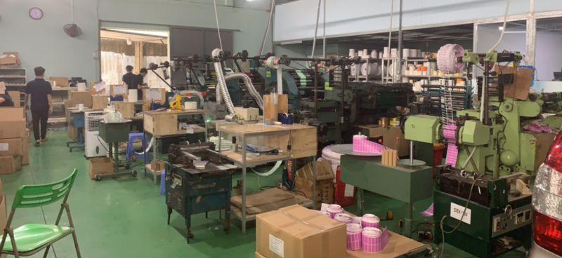 Sản xuất giấy decal in mã vạch